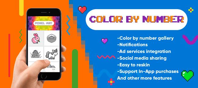 Buy Color By Number Pixel Art App Source Code Sell My App