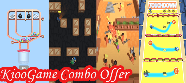 Kioo Games Mega Combo Offer: Top 4 Games for only $99 USD! -70% OFF NOW!